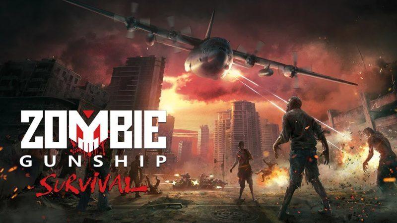 zombie gunship mod apk cover image
