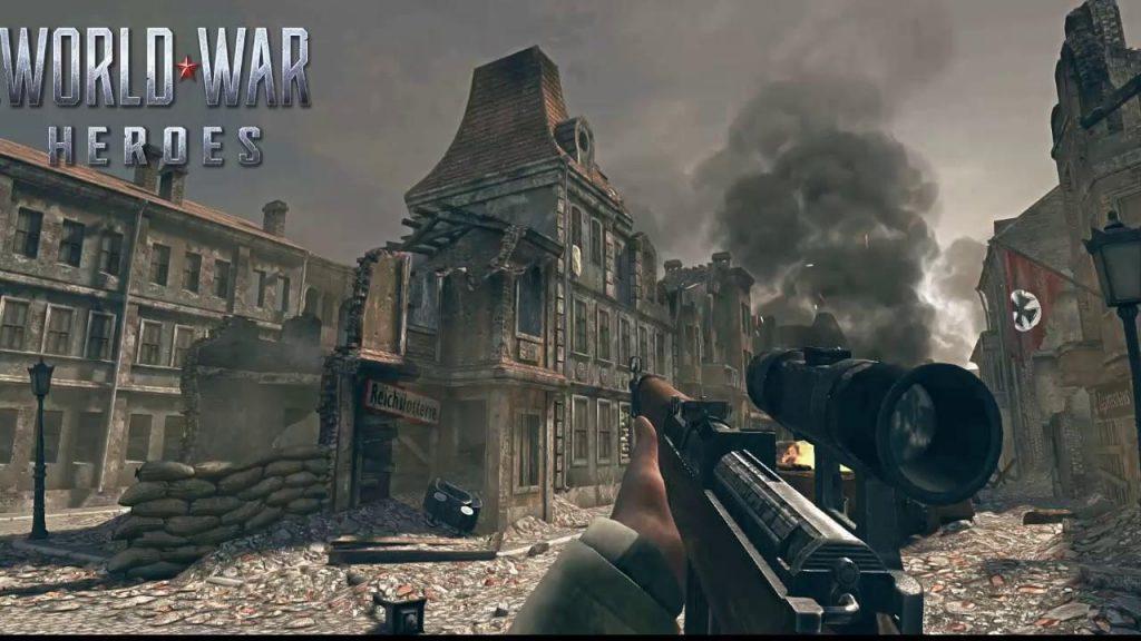 World War Heroes Mod Apk (Menu, Ammo, Money) Download